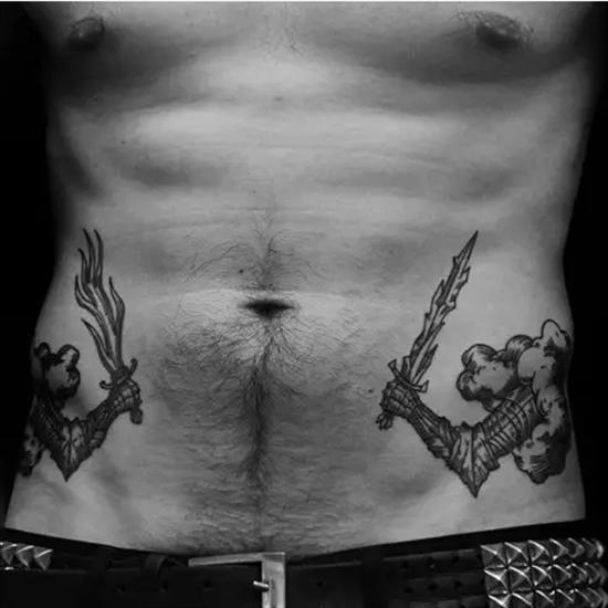 小型男生纹身图案大全 适合大男人低调纹身 -小型男生纹身图案大全,图片