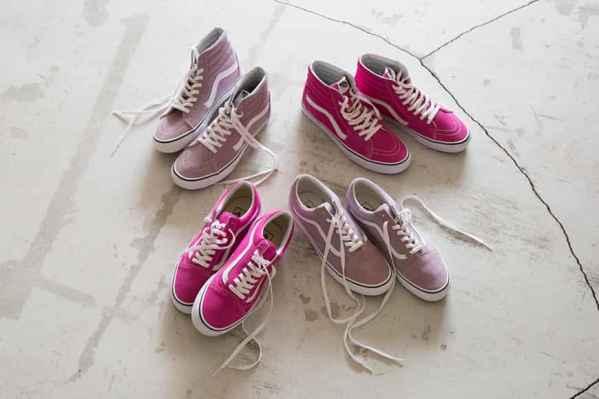 Vans 与 Beauty & Youth 推出联名粉色系列