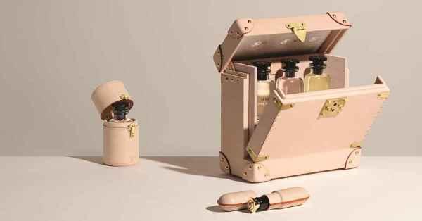 路易威登推出旅行专用香水皮套