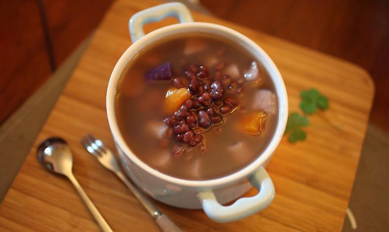 夏天喝红豆汤好吗