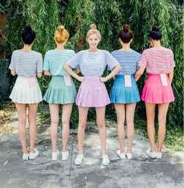 条纹T恤女装短袖 塑造夏日清新文艺范儿