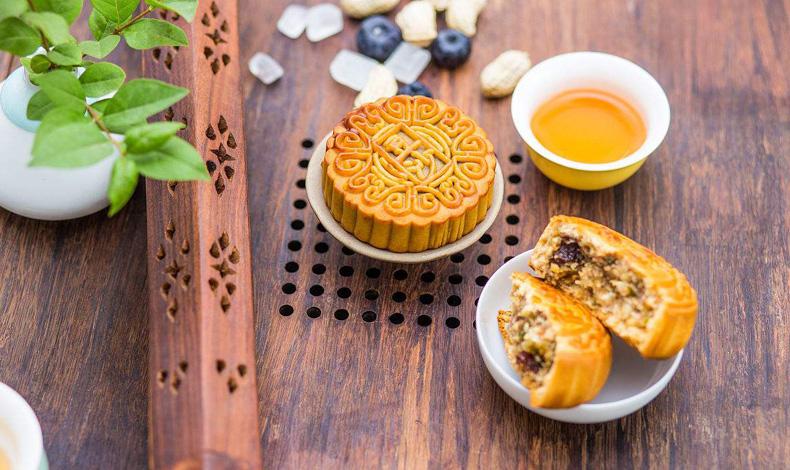 中秋月饼+茶=黄金搭配