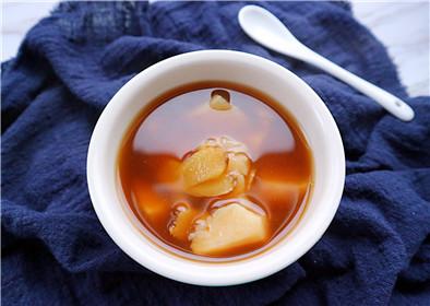 红糖水煮鸡蛋的功效