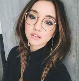 眼镜妆怎么画 学生妹眼镜妆教程