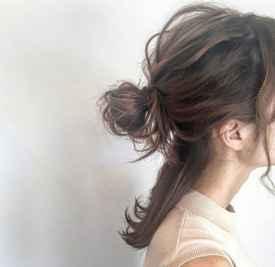 发量少怎么扎半丸子头 元气少女半丸子头值得你扎