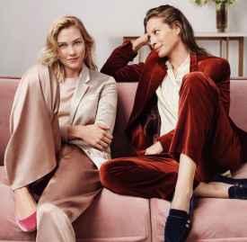 Karlie Kloss与Christy Turlington出镜Cole Haan秋冬形象