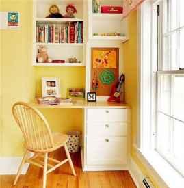 书房书桌和书柜效果图 这样设计让书房更具风格