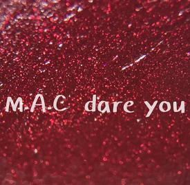 MAC口红dare you试色 秋季必备色