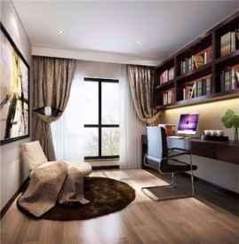 中式书房窗帘效果图 中式书房窗帘如何选择