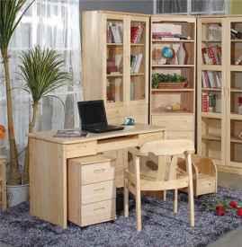 简约书房家具设计图片 简约书房家具特点有哪些