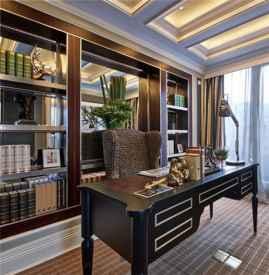 现代书房装修效果图 现代书房有什么特点