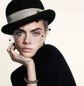 Cara Delevingne 登法版《Vogue 》十月号