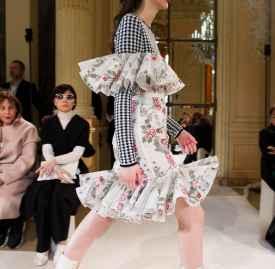 印花元素的时尚解读 花卉艺术正式晋升时尚领域