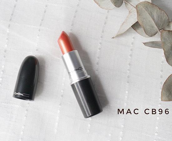 MAC口红cb96试色,MAC口红cb96是人鱼姬吗,MAC cb96适合黄皮吗