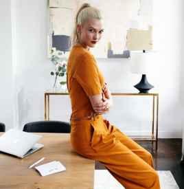 造访超模Karlie Kloss极简摩登的办公环境