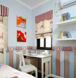 儿童书房窗帘效果图 儿童书房布置有什么技巧