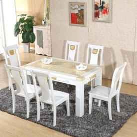 实木餐桌和大理石餐桌 如何选购这两种餐桌