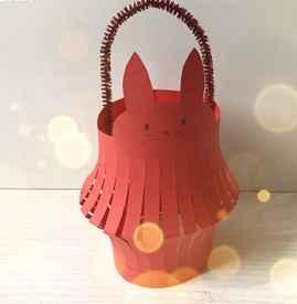 中秋节灯笼怎么做 兔子灯笼DIY制作简易版