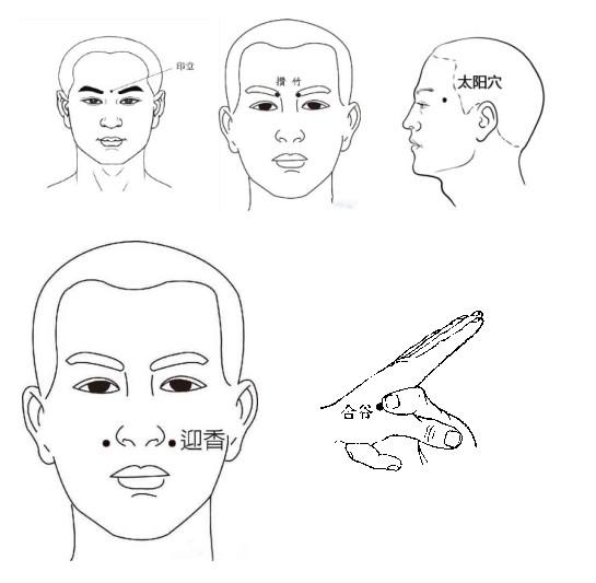小儿鼻炎推拿手法图解 家长可试试这三种手法