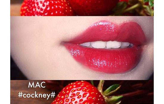 MAC草莓红是什么色号 春夏一颗草莓红