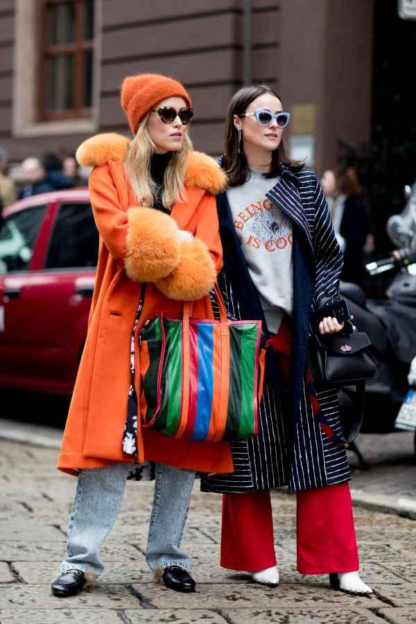 什么颜色的包既时髦又能很好凹造型呢?