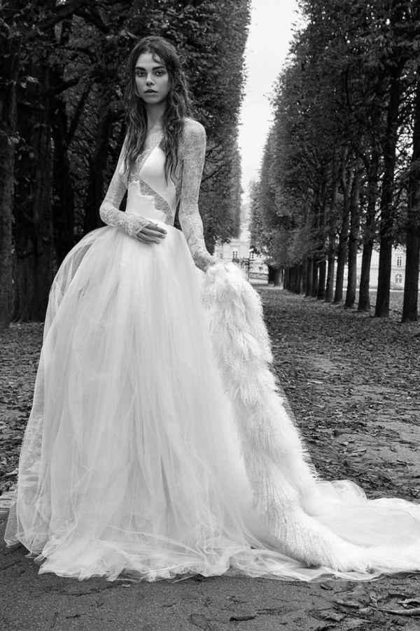 婚纱女王Vera Wang打造暗黑优雅