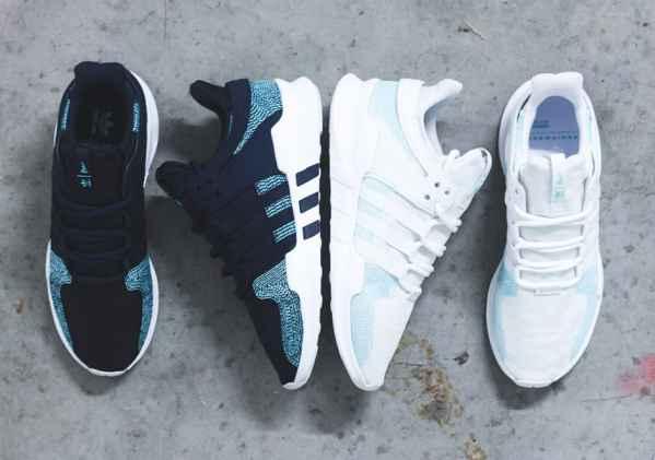 阿迪达斯(Adidas)X Parley for the Oceans推出最新的联名系列
