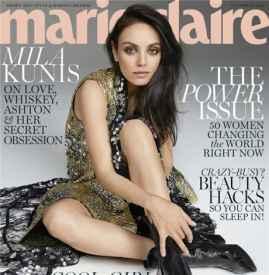 《Marie Claire》十一月刊  百变天后霸气登封