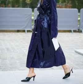 长款皮衣搭配什么鞋子 轻松打造干练气场
