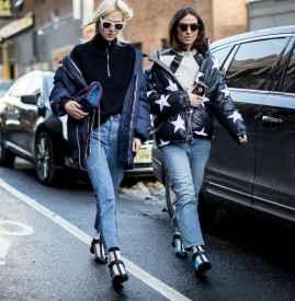 冬季羽绒服街拍 穿出高级范儿