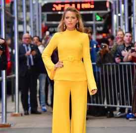 Blake Lively 的一日时尚 连续五套时装展现高超品味