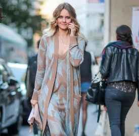 针织裙怎么搭配 秋冬最IN针织裙