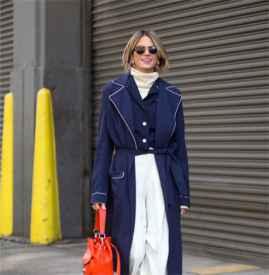 白色毛衣搭配什么外套  这样穿御寒凹造型两不误