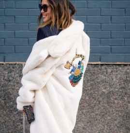 秋冬外套女 Aimee Song也等不及穿上的Teddy Jacket