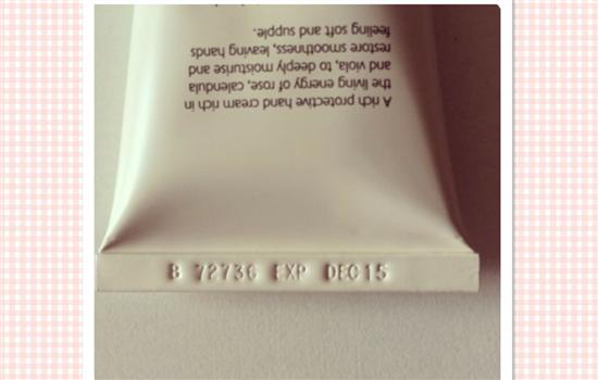 茱莉蔻护手霜生产日期 jurlique的日期怎么看