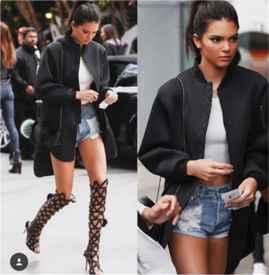 Kendall Jenner街拍集锦  不愧是时尚前端的影响力