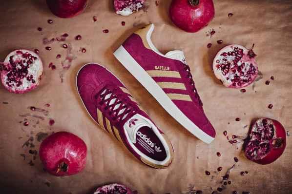 Adidas Originals推出新款瞪羚鞋