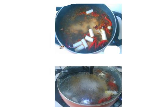 涮羊肉锅底