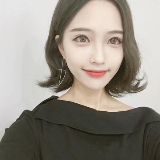 韩国短发烫发发型 秋冬时