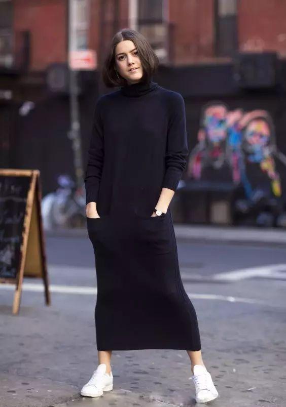 毛衣裙怎么搭配 如何把毛衣裙穿的时尚