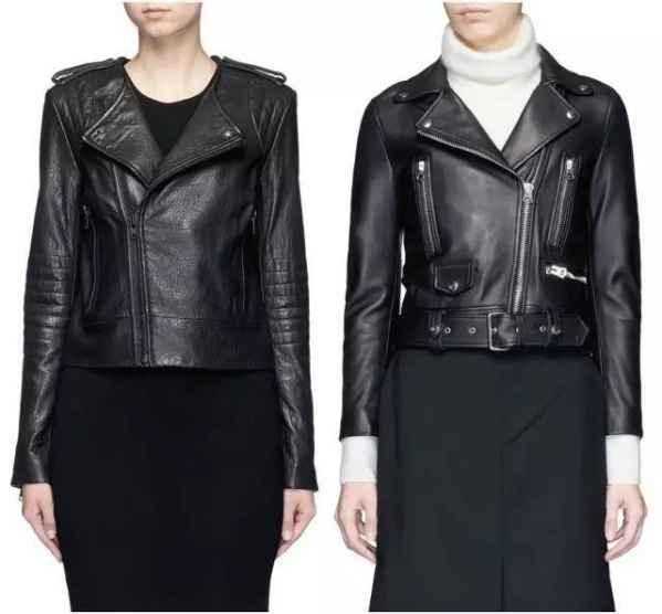 黑色皮衣怎样穿搭|怎样挑选皮衣 时髦精都是这样考虑的
