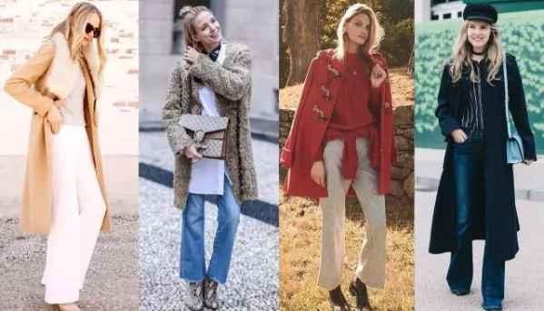 秋冬长外套+阔腿裤,让你气场两米八!