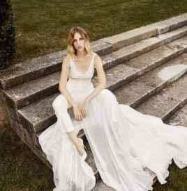Danielle Frankel为个性女人打造专属婚纱