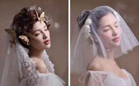 欧美风格新娘发型 让新娘更具魅力图片