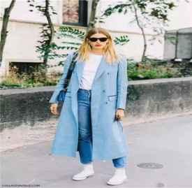 长大衣怎么搭配 小个子女生也能穿出一米八的效果