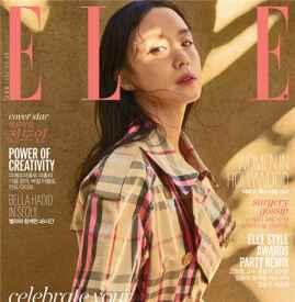 韩国版《ELLE》十二月画报  实力派女演员全度妍登封