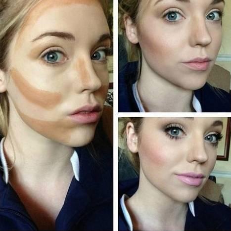 修容粉这样用 让你轻松拥有精致小V脸