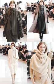 秋冬毛衣的搭配 时尚新玩法毛衣也能当围巾用