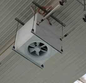 高大空间热水暖风机 从这4方面帮大家介绍这类暖风机