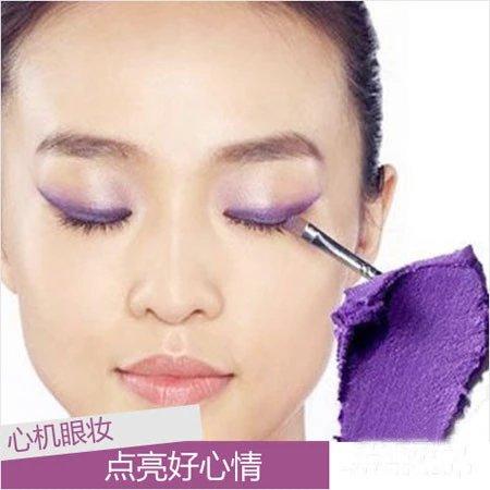 眼妆的画法步骤图片 几款出众彩色眼妆教程